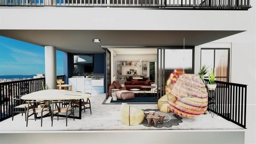 Decorado 152m varanda - Fachada - SPOT 393 Residencial - 49 - 14