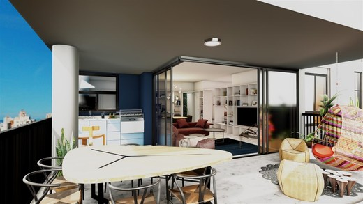 Decorado 152m varanda - Fachada - SPOT 393 Residencial - 49 - 15