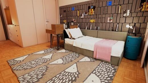 Decorado 152m quarto - Fachada - SPOT 393 Residencial - 49 - 17