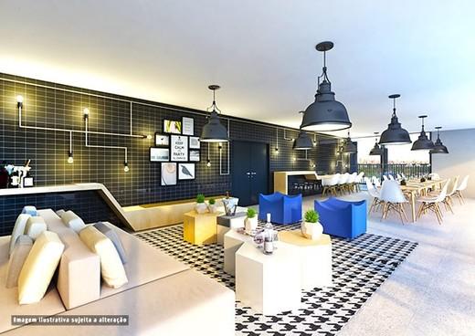 Salao de festas - Fachada - SPOT 393 Residencial - 49 - 19