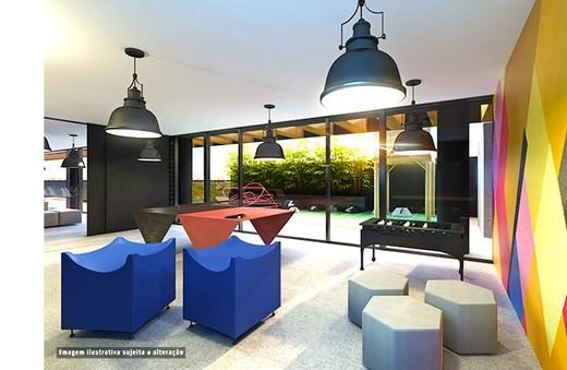 Salao de festas - Fachada - SPOT 393 Residencial - 49 - 20