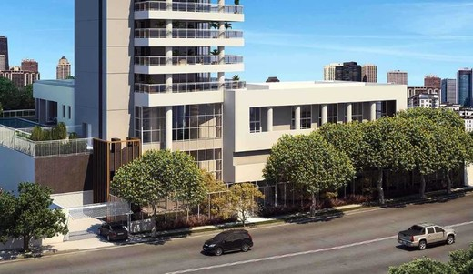 Entrada - Apartamento à venda Avenida Engenheiro Luís Gomes Cardim Sangirardi,Vila Mariana, São Paulo - R$ 5.185.590 - II-1732-6375 - 5