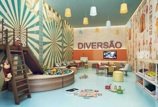 Brinquedoteca - Apartamento à venda Avenida Engenheiro Luís Gomes Cardim Sangirardi,Vila Mariana, São Paulo - R$ 5.185.590 - II-1732-6375 - 15
