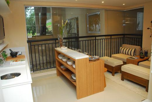 Varanda 67m - Apartamento à venda Rua Carvalho de Freitas,Morumbi, São Paulo - R$ 999.893 - II-1741-8576 - 12