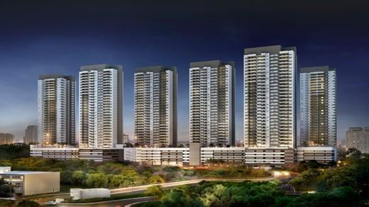 Fachada - Apartamento à venda Rua Doutor Luiz Migliano,Morumbi, São Paulo - R$ 1.031.967 - II-1769-6533 - 1