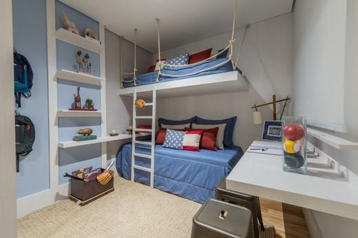 Dormitorio 87m - Apartamento à venda Rua Doutor Luiz Migliano,Morumbi, São Paulo - R$ 1.031.967 - II-1769-6533 - 6