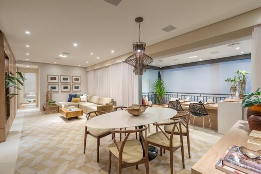 Living 129m - Apartamento à venda Rua Doutor Luiz Migliano,Morumbi, São Paulo - R$ 1.031.967 - II-1769-6533 - 7