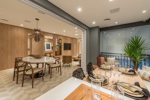 Varanda 129m - Apartamento à venda Rua Doutor Luiz Migliano,Morumbi, São Paulo - R$ 1.031.967 - II-1769-6533 - 9