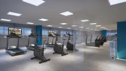 Fitness - Apartamento à venda Rua Doutor Luiz Migliano,Morumbi, São Paulo - R$ 1.031.967 - II-1769-6533 - 17