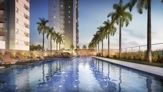Piscina adulto - Apartamento à venda Rua Doutor Luiz Migliano,Morumbi, São Paulo - R$ 1.031.967 - II-1769-6533 - 21