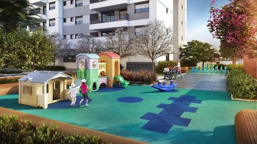 Playground baby - Apartamento à venda Rua Doutor Luiz Migliano,Morumbi, São Paulo - R$ 1.031.967 - II-1769-6533 - 27