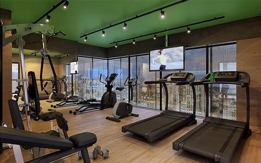 Fitness - Fachada - You Collection Alves Guimarães Residencial - 57 - 4
