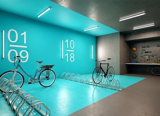 Bicicletario - Fachada - You Collection Alves Guimarães Residencial - 57 - 5