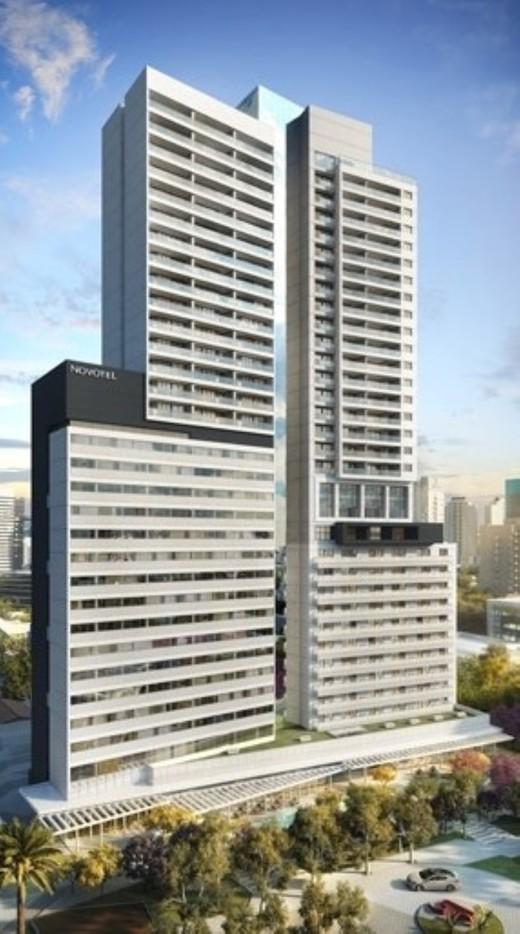 Fachada - Sala Comercial 39m² à venda Rua Henri Dunant,Santo Amaro, São Paulo - R$ 336.764 - II-1776-6566 - 1