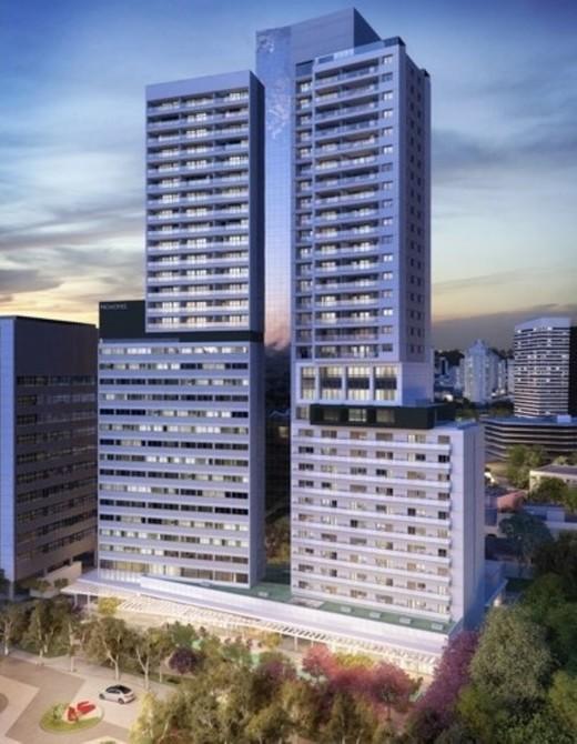 Fachada - Sala Comercial 39m² à venda Rua Henri Dunant,Santo Amaro, São Paulo - R$ 336.764 - II-1776-6566 - 3