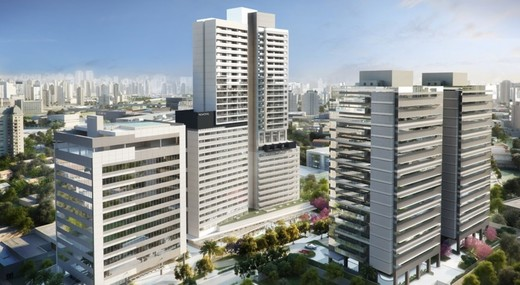 Fachada - Sala Comercial 39m² à venda Rua Henri Dunant,Santo Amaro, São Paulo - R$ 336.764 - II-1776-6566 - 4