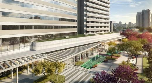 Vista aerea - Sala Comercial 39m² à venda Rua Henri Dunant,Santo Amaro, São Paulo - R$ 336.764 - II-1776-6566 - 12
