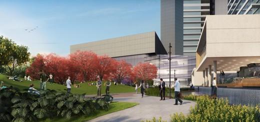 Jardim contemplativo - Fachada - Parque da Cidade - Office - 352 - 18