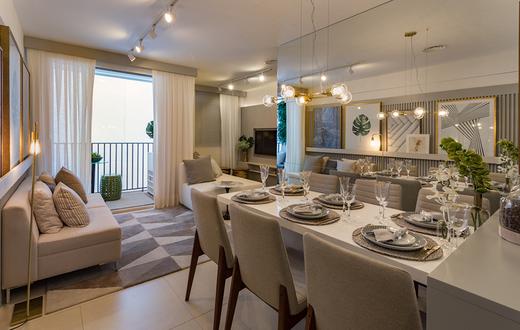 Living 58m2 - Apartamento à venda Avenida Miguel Yunes,Campo Grande, São Paulo - R$ 473.245 - II-1782-6587 - 3