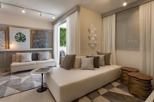 Living 58m2 - Apartamento à venda Avenida Miguel Yunes,Campo Grande, São Paulo - R$ 473.245 - II-1782-6587 - 6