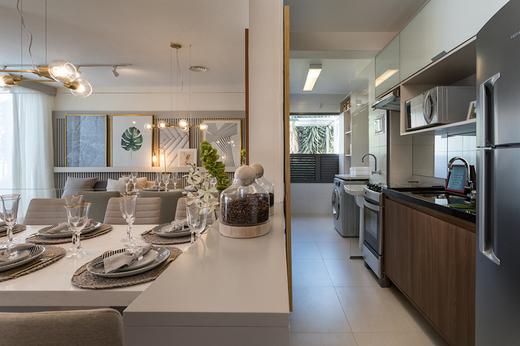 Living 58m2 - Apartamento à venda Avenida Miguel Yunes,Campo Grande, São Paulo - R$ 473.245 - II-1782-6587 - 7
