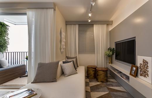 Living 58m2 - Apartamento à venda Avenida Miguel Yunes,Campo Grande, São Paulo - R$ 473.245 - II-1782-6587 - 8
