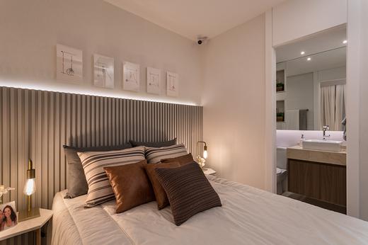 Quarto casal 58m2 - Apartamento à venda Avenida Miguel Yunes,Campo Grande, São Paulo - R$ 473.245 - II-1782-6587 - 9