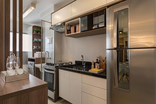 Cozinha 58m2 - Apartamento à venda Avenida Miguel Yunes,Campo Grande, São Paulo - R$ 473.245 - II-1782-6587 - 12