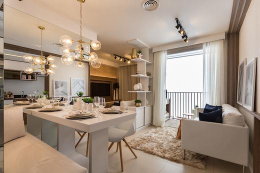 Living 44m2 - Apartamento à venda Avenida Miguel Yunes,Campo Grande, São Paulo - R$ 473.245 - II-1782-6587 - 13