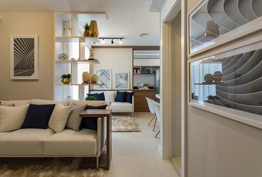 Living 44m2 - Apartamento à venda Avenida Miguel Yunes,Campo Grande, São Paulo - R$ 473.245 - II-1782-6587 - 15