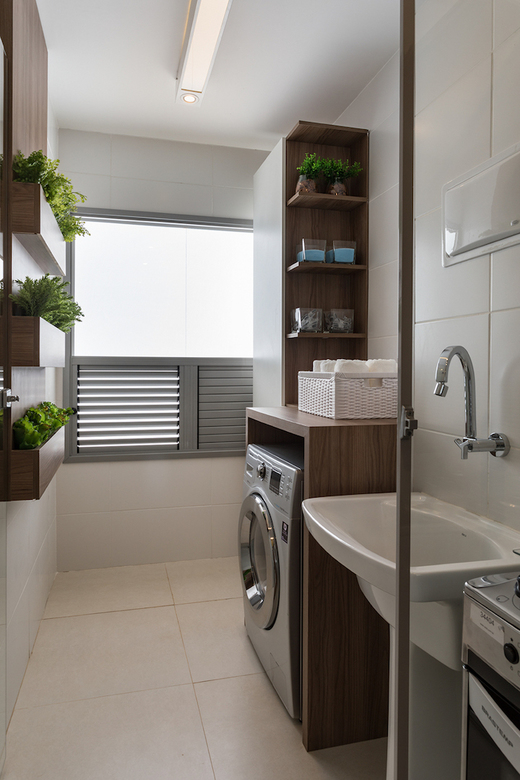 Lavanderia 44m2 - Apartamento à venda Avenida Miguel Yunes,Campo Grande, São Paulo - R$ 473.245 - II-1782-6587 - 17