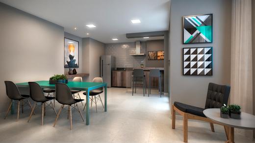 Espaco gourmet - Apartamento à venda Avenida Miguel Yunes,Campo Grande, São Paulo - R$ 473.245 - II-1782-6587 - 19