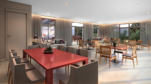 Salao de festas - Apartamento à venda Avenida Miguel Yunes,Campo Grande, São Paulo - R$ 473.245 - II-1782-6587 - 21