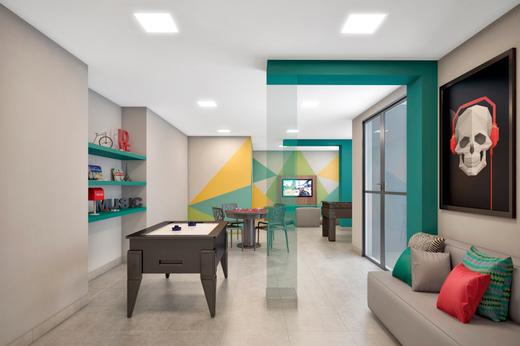Salao de jogos - Apartamento à venda Avenida Miguel Yunes,Campo Grande, São Paulo - R$ 473.245 - II-1782-6587 - 22
