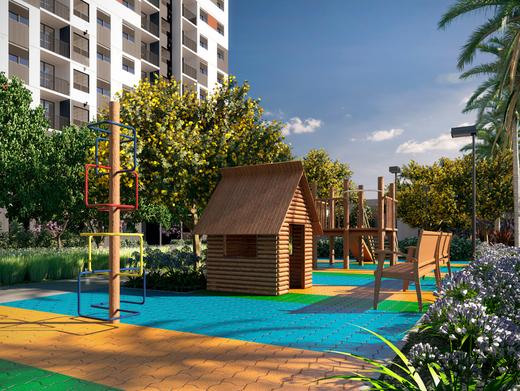 Playground - Apartamento à venda Avenida Miguel Yunes,Campo Grande, São Paulo - R$ 473.245 - II-1782-6587 - 27