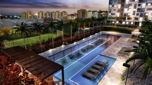 Voo lazer - Apartamento à venda Avenida Miguel Yunes,Campo Grande, São Paulo - R$ 473.245 - II-1782-6587 - 28