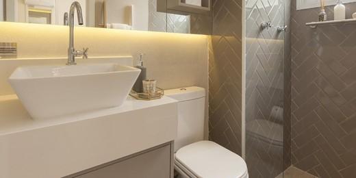 Banheiro suite - Fachada - Side Atlântica - 355 - 14