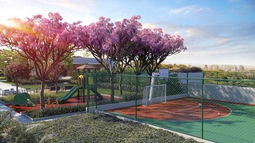 Quadra e playground - Fachada - Clock Vila Romana - 356 - 6