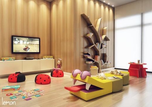 Brinquedoteca - Apartamento à venda Avenida Mofarrej,Vila Leopoldina, São Paulo - R$ 740.134 - II-1830-6719 - 10