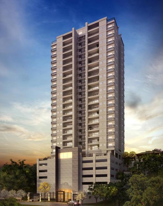 Fachada - Apartamento à venda Rua Carvalho de Freitas,Morumbi, São Paulo - R$ 1.154.917 - II-1850-6773 - 1