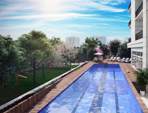 Piscina - Apartamento à venda Rua Carvalho de Freitas,Morumbi, São Paulo - R$ 1.154.917 - II-1850-6773 - 17