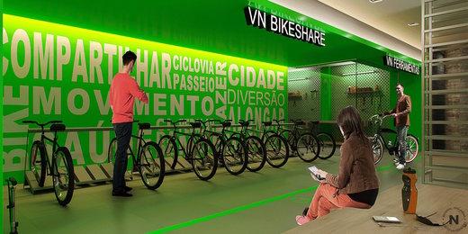 Bike share - Fachada - VN Capote Valente - 61 - 13