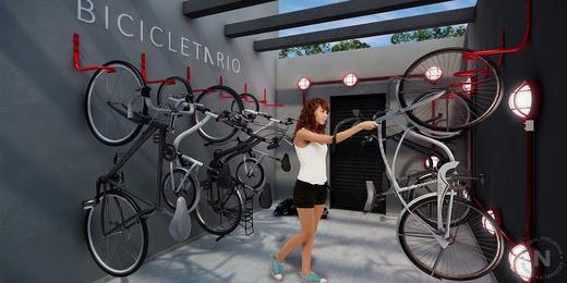 Bike sharing - Fachada - VN Nova Higienópolis - 369 - 9