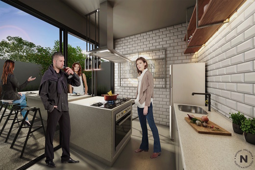 Cozinha compartilhada - Fachada - VN Nova Higienópolis - 369 - 10