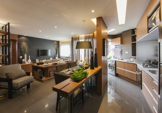 Living e cozinha 65m2 - Fachada - IN Parque Belém - Panamby - 375 - 3