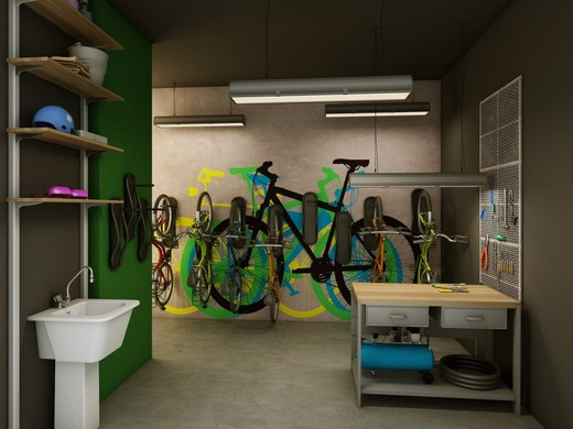 Bicicletario - Fachada - Átrio Vila Madalena - 64 - 8