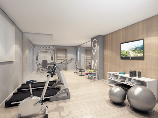 Fitness - Fachada - Essência Vila Romana - 377 - 7