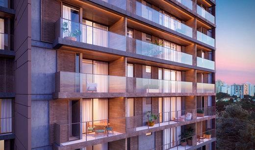 Fachada - Apartamento à venda Rua Girassol,Vila Madalena, Zona Oeste,São Paulo - R$ 1.180.492 - II-2067-7208 - 3