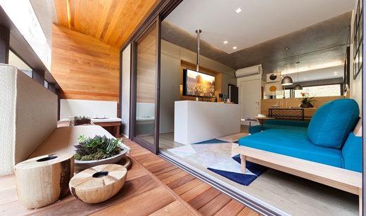 Varanda - Apartamento à venda Rua Girassol,Vila Madalena, Zona Oeste,São Paulo - R$ 1.180.492 - II-2067-7208 - 7