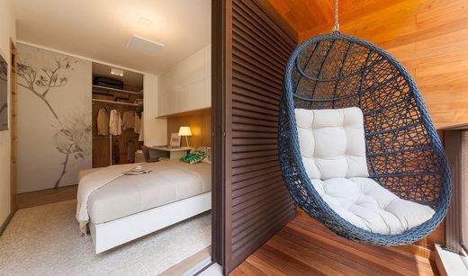 Dorm varanda - Apartamento à venda Rua Girassol,Vila Madalena, Zona Oeste,São Paulo - R$ 1.180.492 - II-2067-7208 - 10